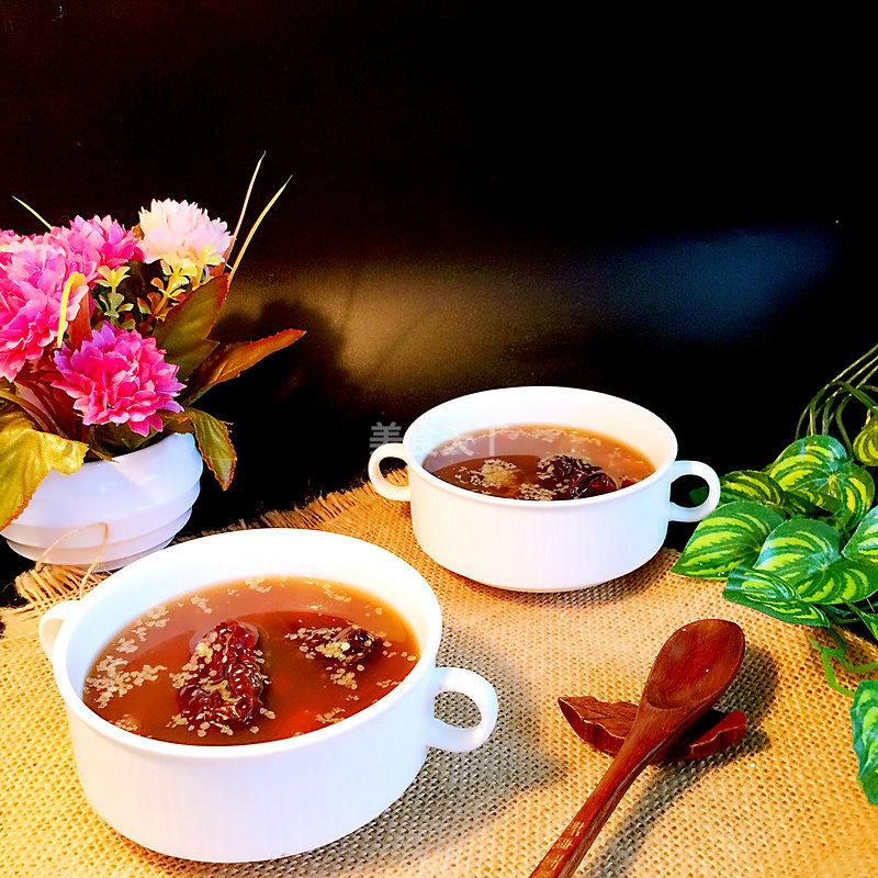 红枣红豆胚芽汤