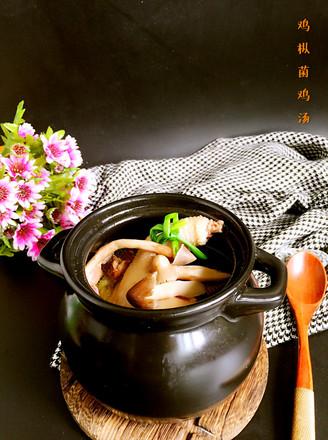 鸡枞菌土鸡汤