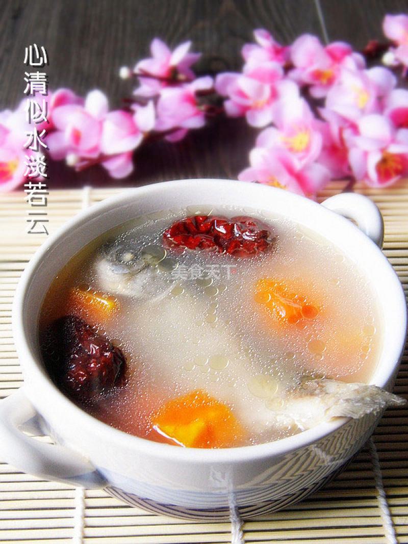 红枣鲫鱼木瓜汤做法1