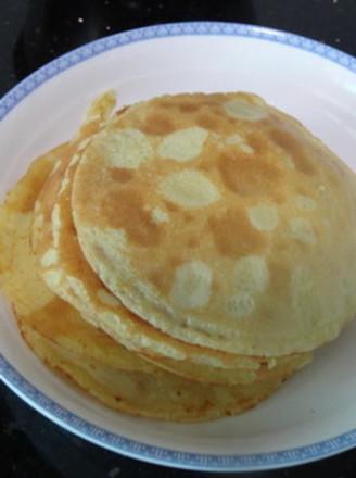 马铃薯小米蛋黄煎饼